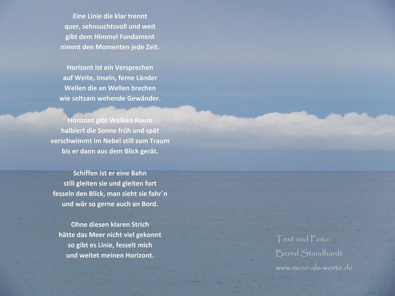 Gedicht strand meer sommer sonne Gedichte über